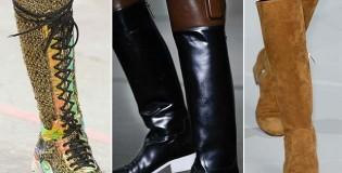 Тенденции при зимните обувки