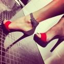 Интересно за високите обувки