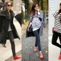 Как да носите червени обувки?
