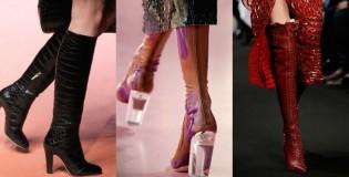 Актуално при зимните дамски обувки