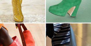 Вижте важни тенденции за обувките през тази година