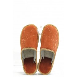 Дамски домашни чехли Полима 101 оранжеви