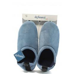 Мъжки анатомични домашни пантофи ДФ BRIGANTE сини