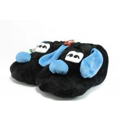 Мъжки домашни пантофи ДФ TOBALDO черно