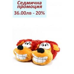 Детски пантофки ДФ JOLLY червен