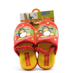 Детски пантофки с ластик ДФ SINTESI чв