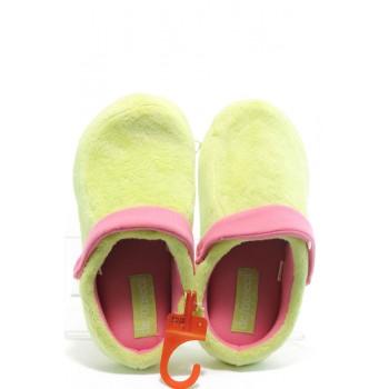Анатомични дамски домашни пантофи ДФ Zolla зелен