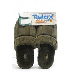 Мъжки домашни чехли RELAX Amaro зелени