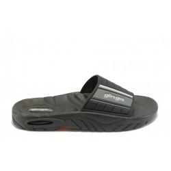 Мъжки бразилски чехли Ginga 80184 черни