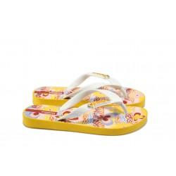 Детски бразилски чехли Ipanema 80361 жълти