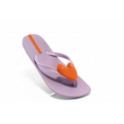 Детски чехли със сърце Ipanema 80941 лилави