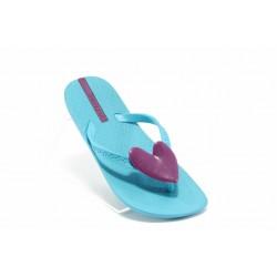 Детски чехли със сърце Ipanema 80941 сини