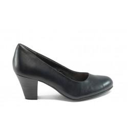 Немски дамски обувки на висок ток Jana 8-22405-23 сини ANTISHOKK