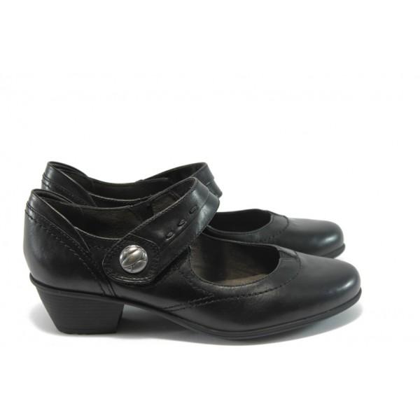 Дамски обувки на ток Jana 8-24303-23 черни