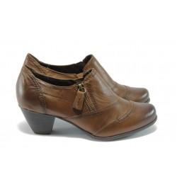 Дамски обувки на ток Jana 8-24445-23 кафяво ANTISHOKK