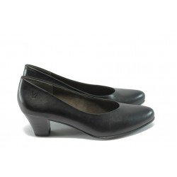 Дамски обувки на ток Caprice 9-22306-23 черни ANTISHOKK