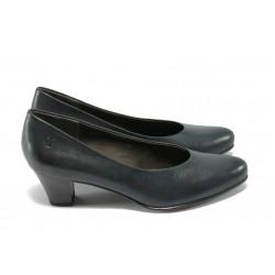 Дамски обувки на ток Caprice 9-22306-23 т.сини ANTISHOKK