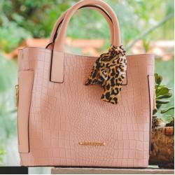 Дамски розови чанти