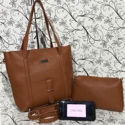Кафяви дамски чанти