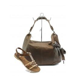Комплект сандали и чанта Tamaris 28130-2066 кафе