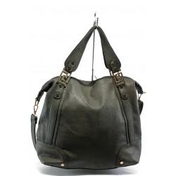 Дамска чанта ФР 3025 сива