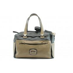 Дамска чанта ЕА 43271-3сив и беж