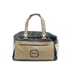 Дамска чанта ЕА 43271-3чер и беж