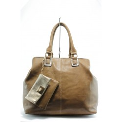 Дамска чанта ЕА 49686камел