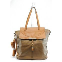 Дамска чанта ЕА 49614камел