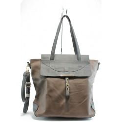 Дамска чанта ЕА 49614кафе