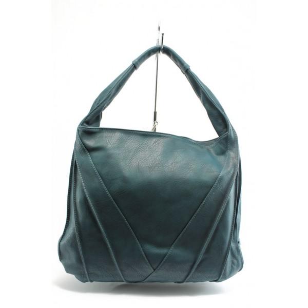 Дамска чанта ЕА 40047тюркоаз