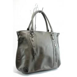 Дамска чанта ЕА 489120-4сива