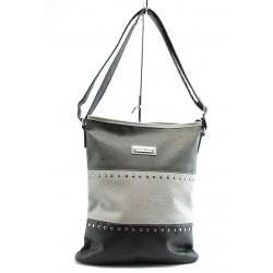 Дамска чанта СБ 1023 сива