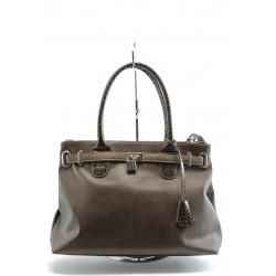 Дамски чанти СБ 1069 кафява