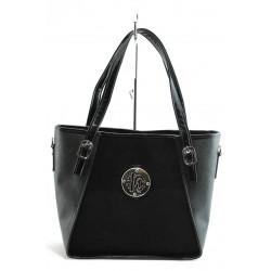 Дамска чанта СБ 1125 ч.в.