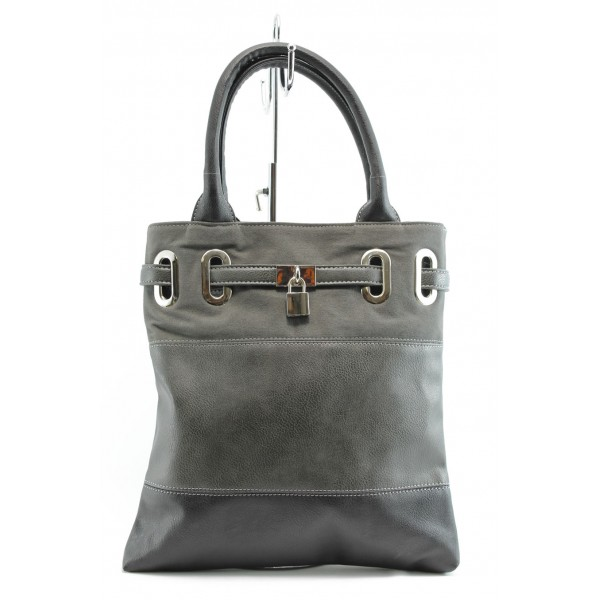 Дамска чанта СБ 1049 сива