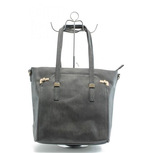 Дамска чанта ФР 572 сива