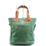 Дамска чанта ФР 8396 зелена