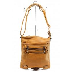 Дамска малка чанта ФР 99024 камел