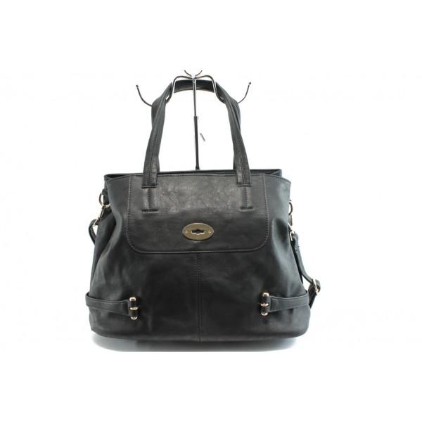 Дамска чанта ФР 13118 черна