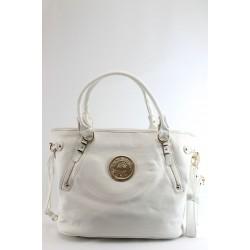 Дамска стилна чанта ФР 5328 бяла