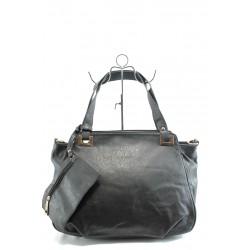 Дамска чанта с портмоненце ФР А-70 черна