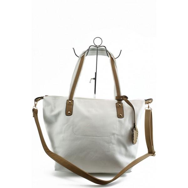 Дамска изчистена чанта ФР 5888 бяла