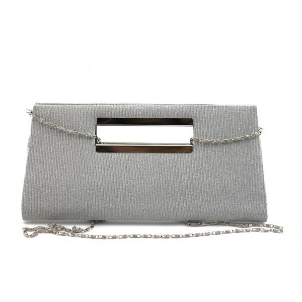 Официална дамска чанта МИ 3 сива
