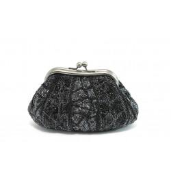 Елегантно дамски портмоне ФР 13 черно