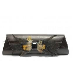 Елегантна дамка чанта - портмоне ФР 04115460 кафява