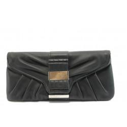 Елегантно дамско портмоне ФР L170 черно