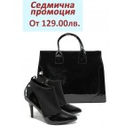 Дамски комплект Marco Tozzi 2-24411-23 и АИ 015 черен лак