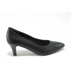 Немски дамски обувки на ток S.Oliver 5-22402-23черни