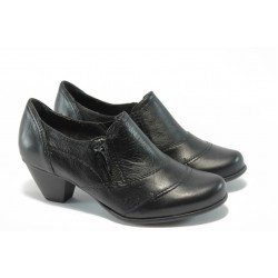 Дамски обувки на ток Jana 8-24445-23 черноо ANTISHOKK
